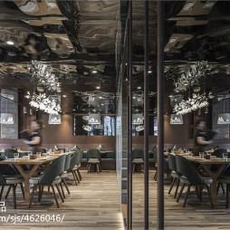 牛牛西厨品牌连锁餐馆就餐区装修图片
