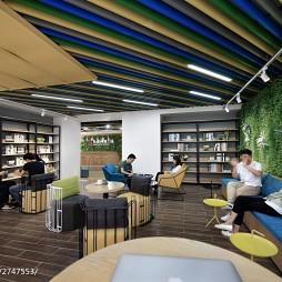 东银创新工场咖啡区设计图