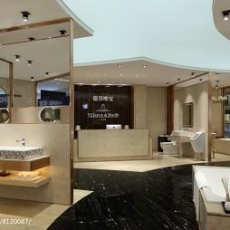 阴德国唯宝卫浴展厅展示设计图片
