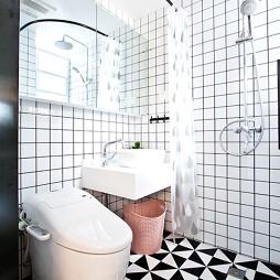 小温馨北欧卫浴设计图