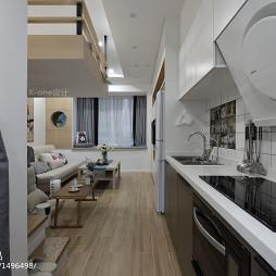 现代小户型厨房设计图
