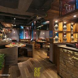 云中歌餐厅卡座设计