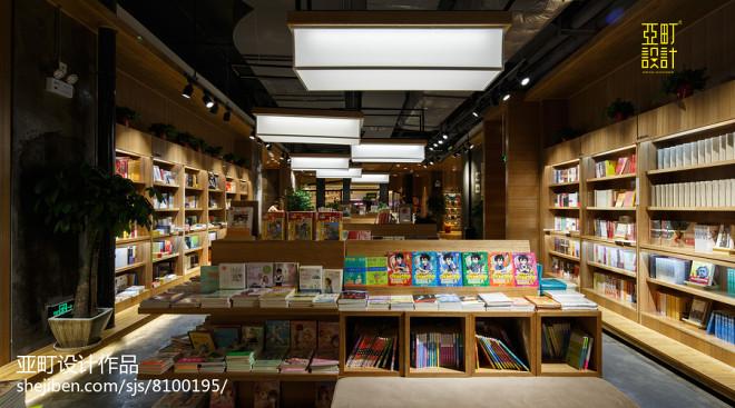 阅+书店图书展示区设计图