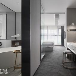 混搭酒店客房卫浴设计图