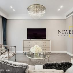 简单美式客厅设计图