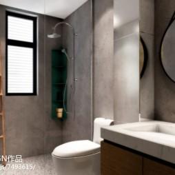 个性现代卫浴设计效果图