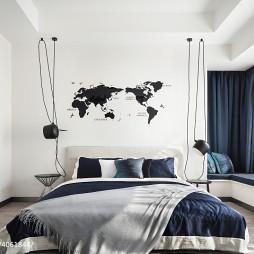 灰色现代卧室设计