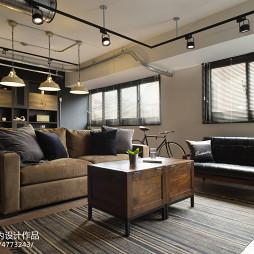 loft风格客厅设计图