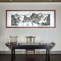 竹語茶室書桌設計圖
