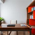 时尚新中式书房设计图