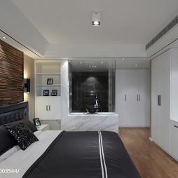 个性简约风格卧室设计图