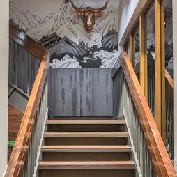 牛炖餐厅楼梯设计图