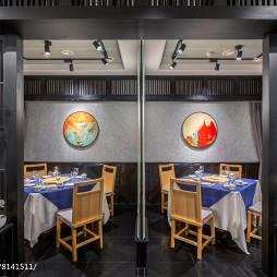 混搭餐饮空间包间设计图