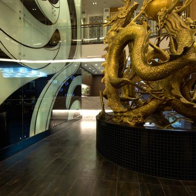 台湾台中雅风筑云餐厅设计_2813558