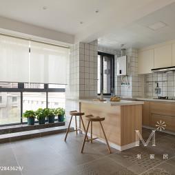 162m²Muji风日式厨房餐厅一体设计