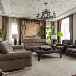中式别墅客厅吊灯设计图