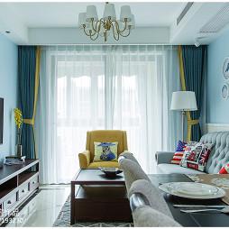 三居简约风格客厅设计效果图