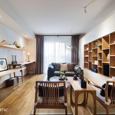禅意新中式客厅设计图