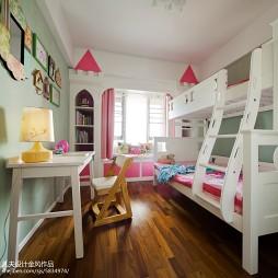 禅意新中式儿童房设计图
