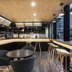 成都叨叨咖啡厅吧台设计图片