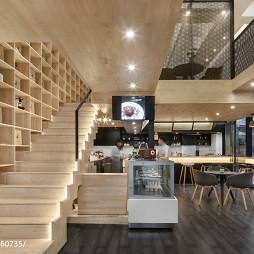 成都叨叨咖啡厅楼梯设计图片