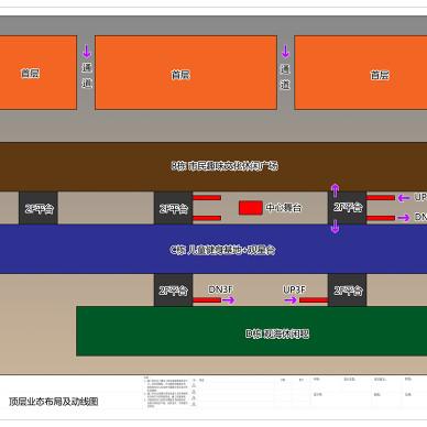 商业广场平面布局设计_2825254