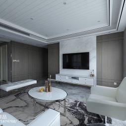 三居现代客厅设计效果图