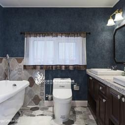 样板房美式卫浴设计