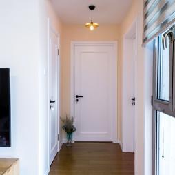 现代二居玄关设计图