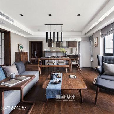 混搭四居客厅设计图片