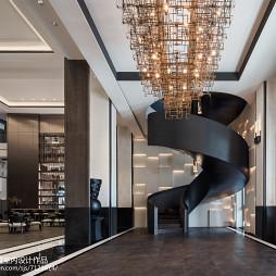 售楼中心楼梯设计图