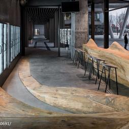 公共餐饮餐厅就餐区设计图