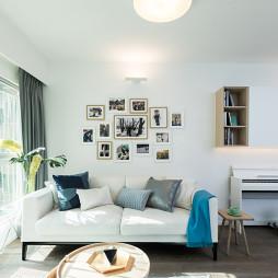 简欧风三居客厅沙发设计图