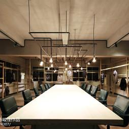 商业展厅制衣展厅设计图
