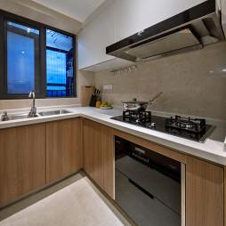 小户型北欧风厨房设计图