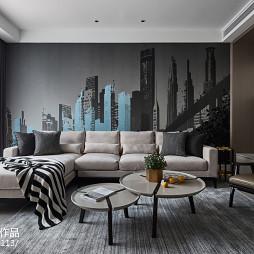 现代别墅客厅设计效果图片
