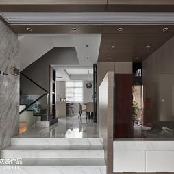 现代别墅玄关设计图