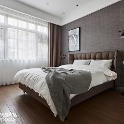 现代别墅卧室设计效果图