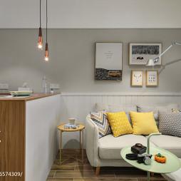 40㎡北欧宜家小客厅设计图