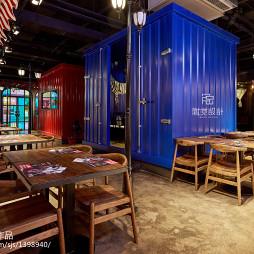 西十二街西餐厅桌椅摆放设计