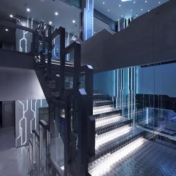 OMG电子竞技俱乐部楼梯设计图