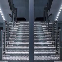 OMG电子竞技俱乐部楼梯设计图片