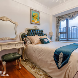 水墨蘭亭样板房卧室设计图片