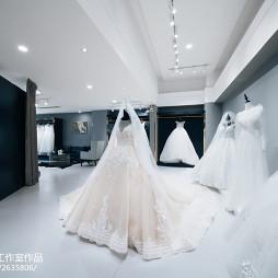 混搭风格婚纱店设计图片