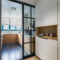 北欧复式厨房设计图片
