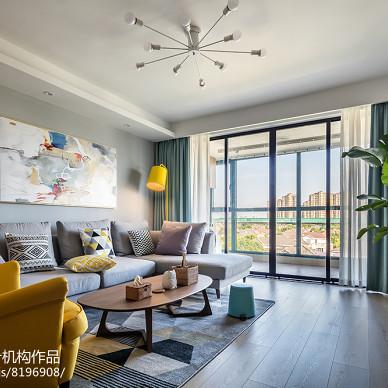 北欧风格复式客厅设计图