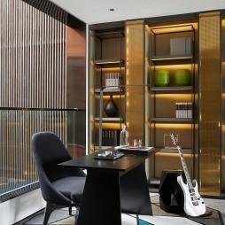 现代样板间书房设计图片