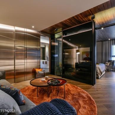 现代二居客厅设计效果图