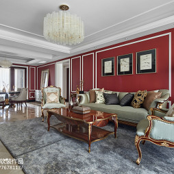 欧式三居客厅设计图