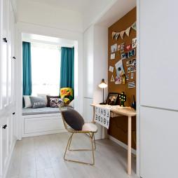 北欧风格二居书房设计图